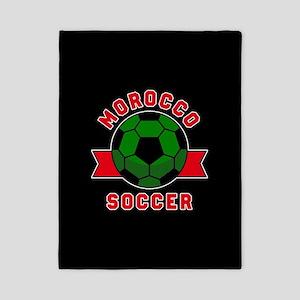 Morocco Soccer Twin Duvet Cover