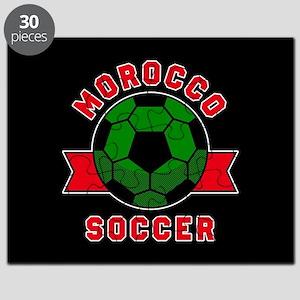 Morocco Soccer Puzzle
