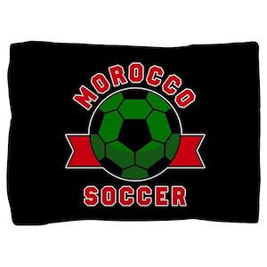 Morocco Soccer Pillow Sham