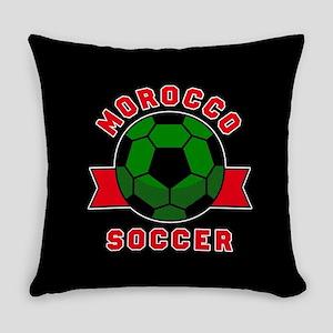 Morocco Soccer Everyday Pillow