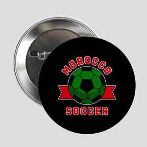 "Morocco Soccer 2.25"" Button (10 pack)"