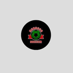 Morocco Soccer Mini Button