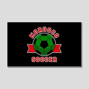 Morocco Soccer Car Magnet 20 x 12