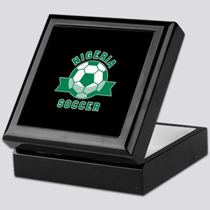 Nigeria Soccer Keepsake Box