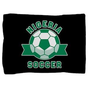 Nigeria Soccer Pillow Sham