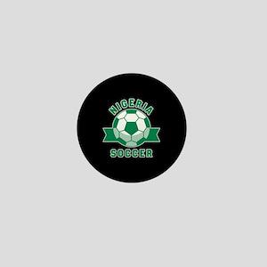 Nigeria Soccer Mini Button