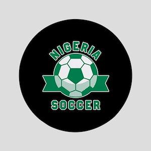 """Nigeria Soccer 3.5"""" Button"""