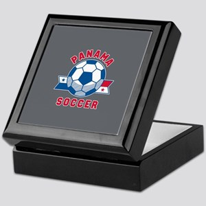 Panama Soccer Keepsake Box