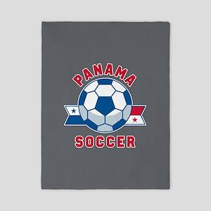 Panama Soccer Twin Duvet Cover