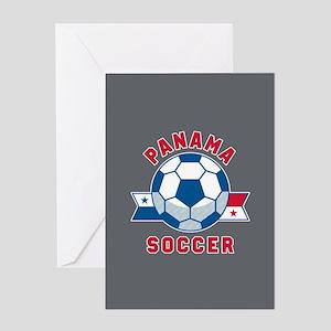 Panama Soccer Greeting Card