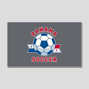 Panama Soccer Car Magnet 20 x 12