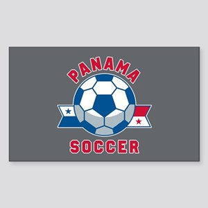 Panama Soccer Sticker (Rectangle)