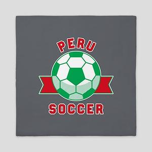 Peru Soccer Queen Duvet
