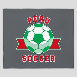 Peru Soccer King Duvet