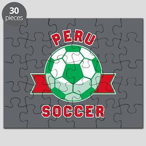 Peru Soccer Puzzle