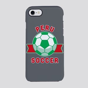 Peru Soccer iPhone 8/7 Tough Case
