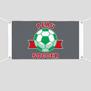 Peru Soccer Banner