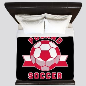 Poland Soccer King Duvet