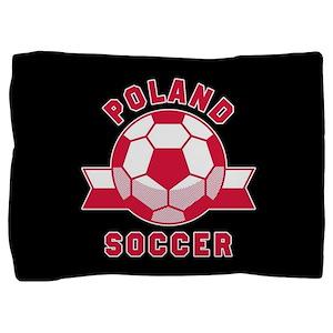 Poland Soccer Pillow Sham
