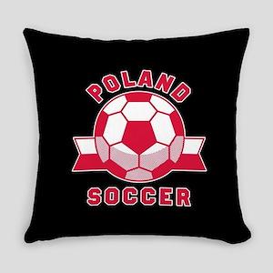 Poland Soccer Everyday Pillow