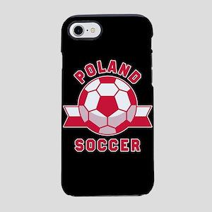 Poland Soccer iPhone 8/7 Tough Case