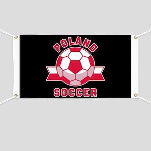 Poland Soccer Banner