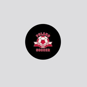 Poland Soccer Mini Button