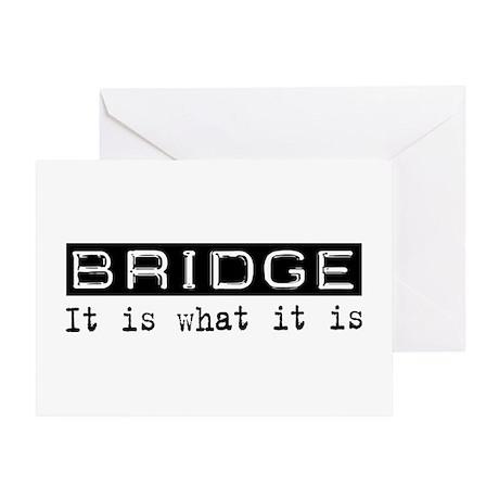 Bridge Is Greeting Card