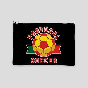 Portugal Soccer Makeup Bag