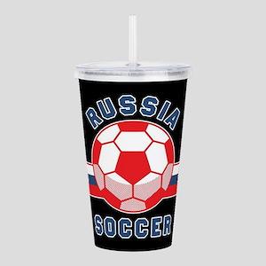 Russia Soccer Acrylic Double-wall Tumbler