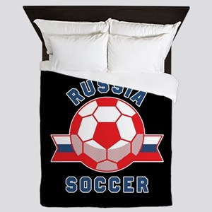 Russia Soccer Queen Duvet