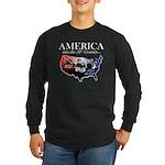 21st Century America Long Sleeve Dark T-Shirt