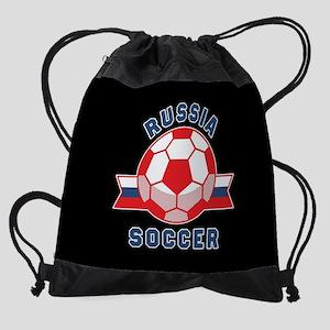 Russia Soccer Drawstring Bag