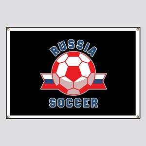 Russia Soccer Banner