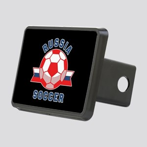 Russia Soccer Rectangular Hitch Cover