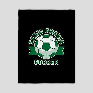 Saudi Arabia Soccer Twin Duvet Cover