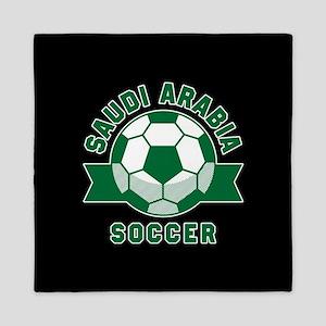 Saudi Arabia Soccer Queen Duvet