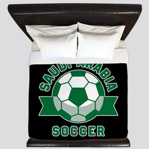 Saudi Arabia Soccer King Duvet