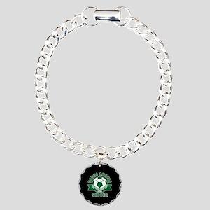 Saudi Arabia Soccer Charm Bracelet, One Charm