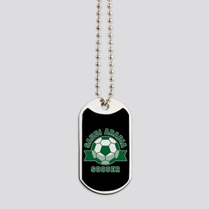 Saudi Arabia Soccer Dog Tags