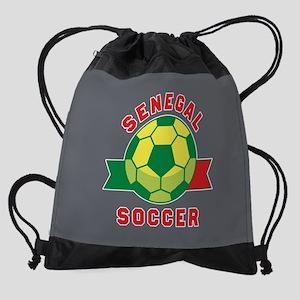 Senegal Soccer Drawstring Bag