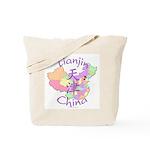 Tianjin China Map Tote Bag
