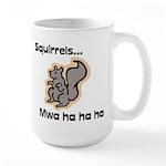 Squirrels Large Mug