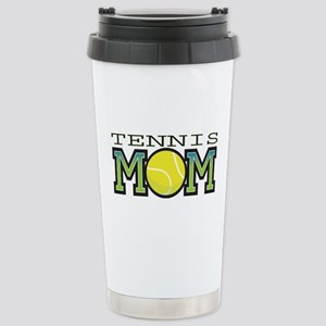 Tennis Mom Stainless Steel Travel Mug