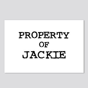 Property of Jackie Postcards (Package of 8)