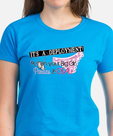 Big Girl Panties & DEAL! Women's Dark T-Shirt
