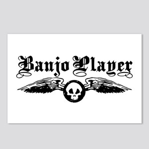 Banjo Player Postcards (Package of 8)