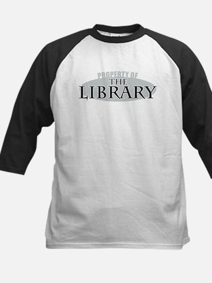 Property of The Library Kids Baseball Jersey