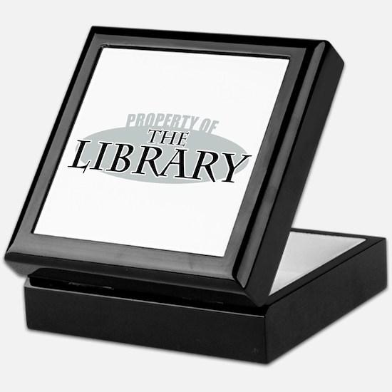 Property of The Library Keepsake Box