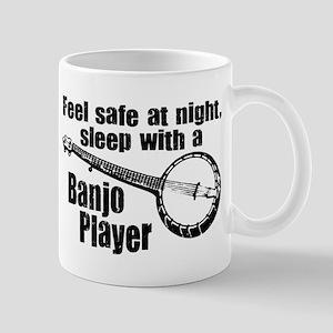 Feel Safe with a Banjo Player Mug
